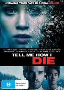 Tell-Me-How-I-Die-DVD-Knowing-your-fate-is-a-real-Killer-Region-4-NEW-SEALED