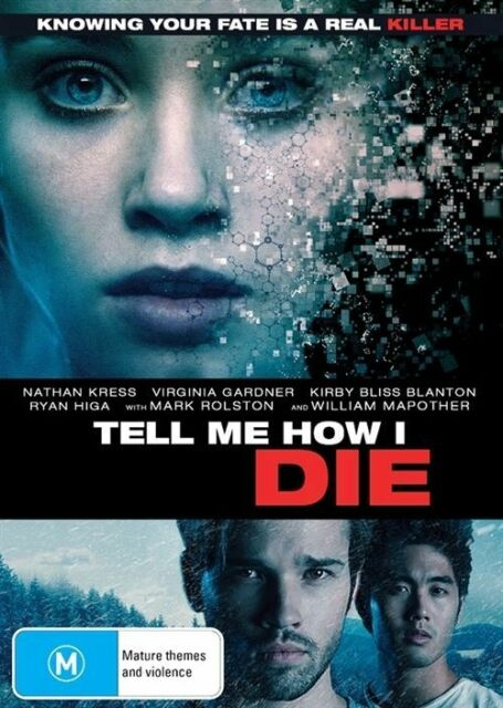 Tell Me How I Die (DVD) Knowing your fate is a real Killer [Region 4] NEW/SEALED