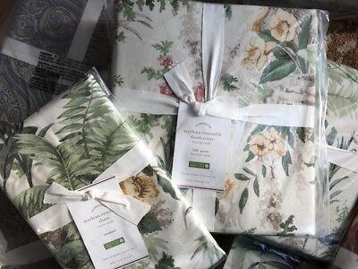Pottery Barn Marla Duvet Cover Set Queen 2 Standard Shams Floral 3pc New