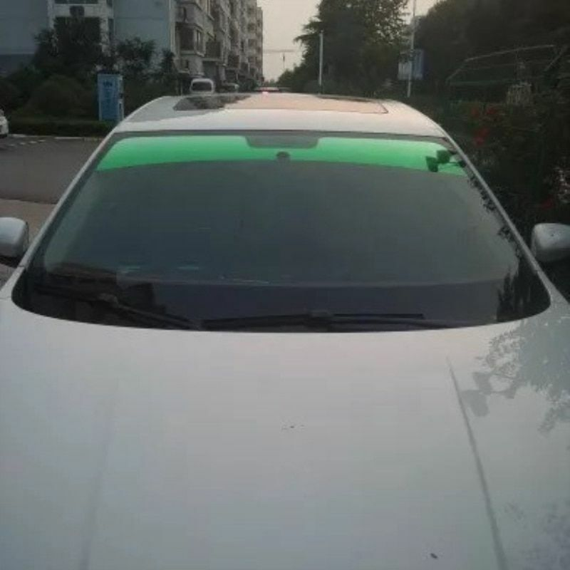 20x150cm Top Front Windshield Foil Solar Protection Gradient Black Tinting Film