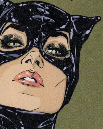 "3"" Black Cat Hair Hiss Kitty Catwoman Comic Retro Goth Horror Vinyl Cool Sticker"