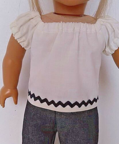 №020 Handmade Doll Clothes Blouse and Leggings for Dolls.