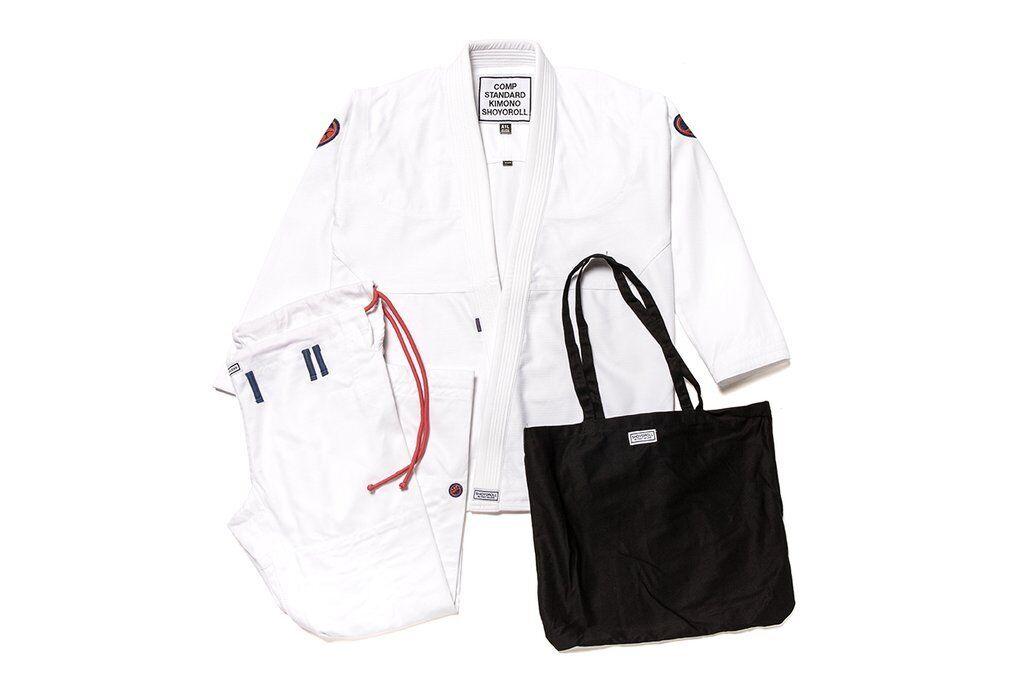 Shoygoldll Comp Standard XVIII Q1 White Brand New bjj gi kimono