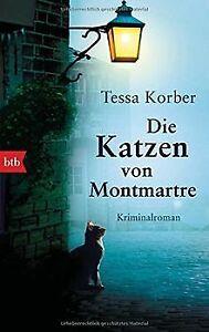 Die-Katzen-von-Montmartre-Kriminalroman-von-Korber-Tessa-Buch-Zustand-gut