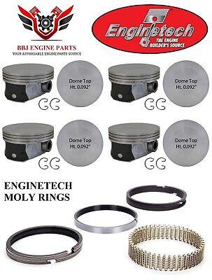 ENGINETECH CHRYSLER DODGE MOPAR 5.7 5.7L 345  PISTON RINGS 2003-2008