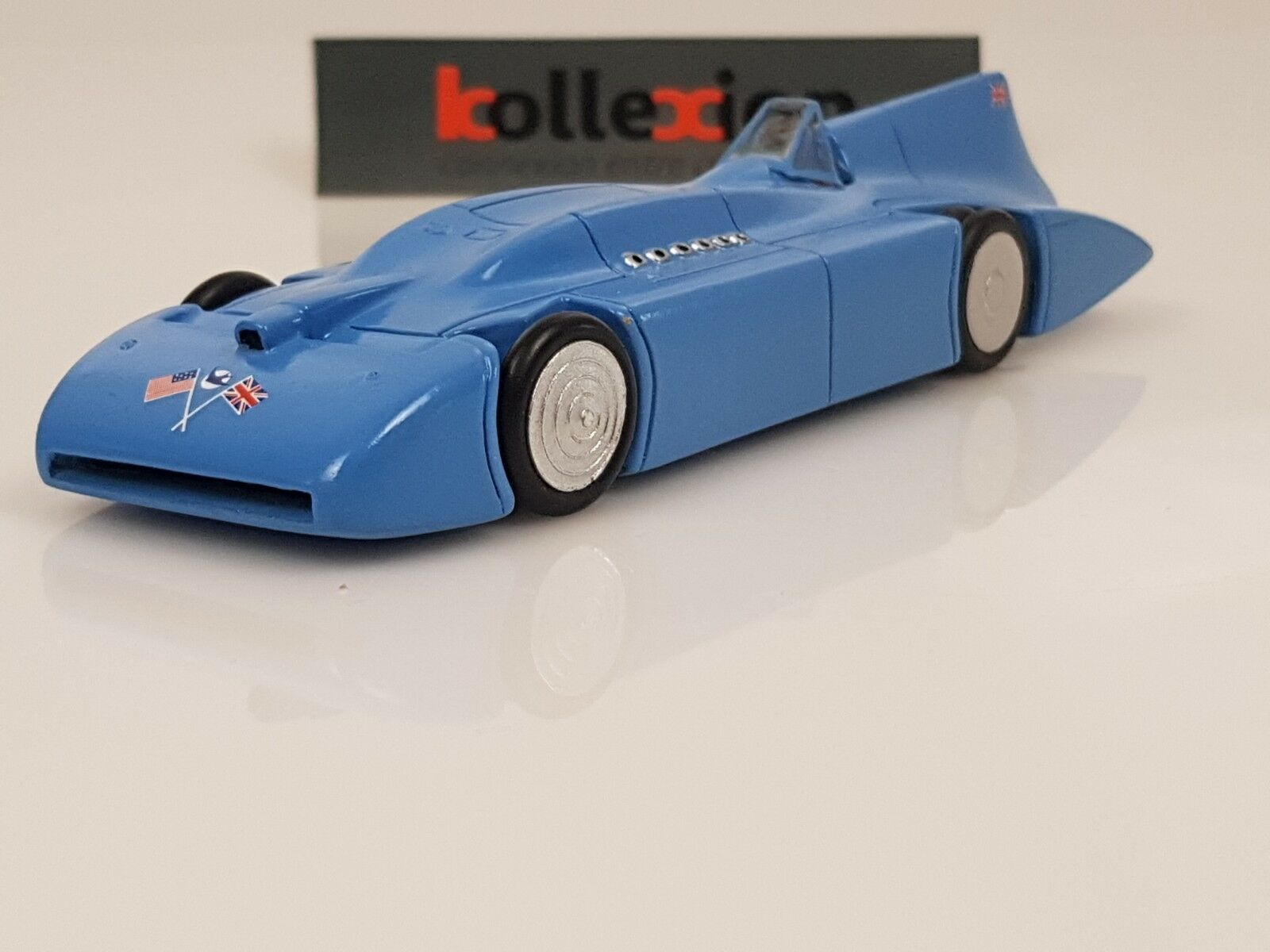 MACH ONE MODELS blueEBIRD Record Bonneville 1935 Malcolm Campbell 1.43 NB