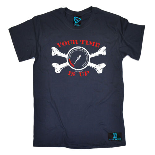 Your Time Is Up T-SHIRT Gear Diver Diving Scuba Dive Club Funny birthday gift