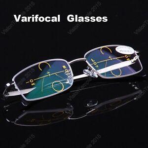 d67d5a1fb4 Image is loading Designer-Metal-Frames-Varifocal-Glasses-Progressive-Glasses -Distance-