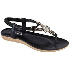 31267348b3d64e item 2 OPIUM Womens Diamante Flat Thong Toe Post Sling Back Padded Insole  Sandals -OPIUM Womens Diamante Flat Thong Toe Post Sling Back Padded Insole  ...