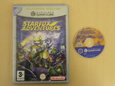 Nintendo Gamecube Game * STARFOX ADVENTURES * Player's Choice Retro Rare S0958