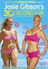 Josie Gibson's 30-Second Slim - Fitness Workout Exercise Weightloss Get Fit DVD