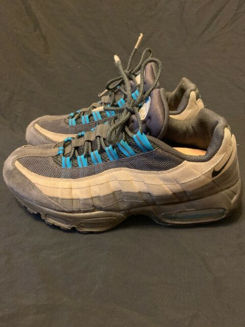 Nike Air Max 95 Anthracite Medium Grey Blue 609048 052 Men's Size 14