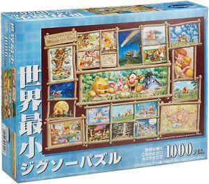 Tenyo-Jigsaw-Puzzle-DW-1000-394-Disney-Winnie-the-Pooh-Art-1000-Pieces