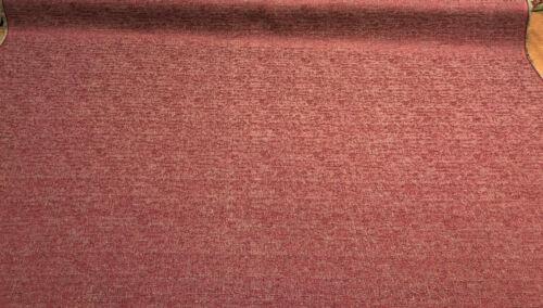 Fabricut Rawhide Monarch Burgundy Red Slubbed Textured Fabric by the yard