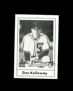 Don Kolloway Hand Signed 1978 Grand Slam Chicago White Sox Autograph
