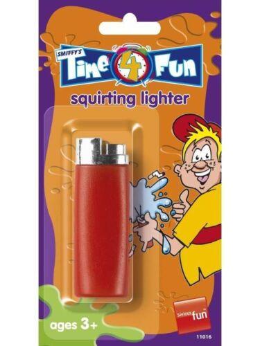 WATER SQUIRTER LIGHTER TIME 4 FUN FANCY DRESS PRANK GADGET FUNNK JOKE PROP TRICK
