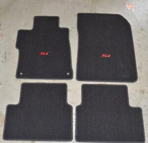 New Genuine Oem 2014 2015 Honda Civic Si Floor Mat Set 83600 Tr7 A21za 4 Door Ebay