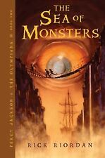 Percy Jackson & the Olympians: The Sea of Monsters Bk. 2 by Rick Riordan (2007, Paperback, Revised)