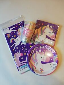 Unicorn-Party-Supplies-TABLEWARE-Box