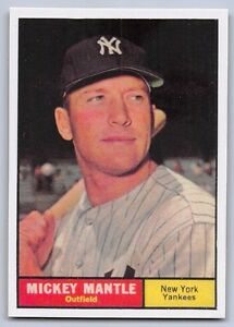 1961-MICKEY-MANTLE-Topps-034-REPRINT-034-Baseball-Card-300-NEW-YORK-YANKEES