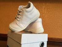 Genuine Leather Baby Boy Girls Shoes White Us Size 5 Compared Stride Rite Walker