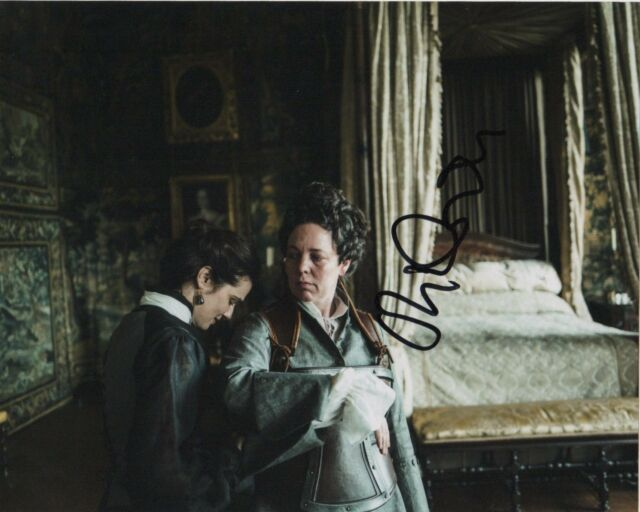 Olivia Colman The Favourite Autographed Signed 8x10 Photo COA #EB12