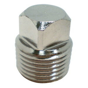 Stainless Steel Garboard Drain Replacement Plug For Boats