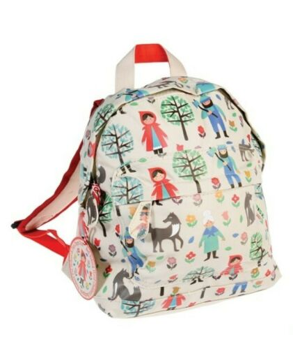 Personalised Backpack floral animal Bag Toddler Boys Girls RexLondon EMBROIDERED