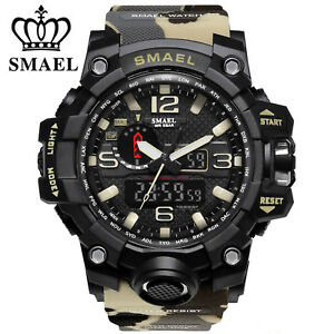 SMAEL-Mens-Military-Watch-Analog-Digital-Electronic-Wristwatch-Sports-Waterproof