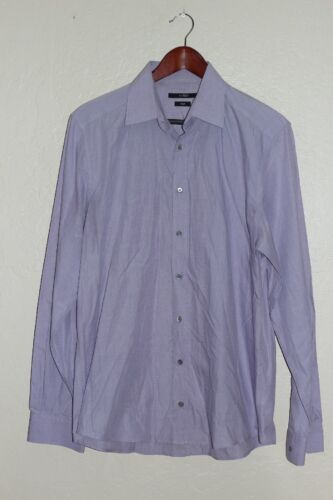 GUCCI Fitted Dress Shirt Striped Cotton Button Dow