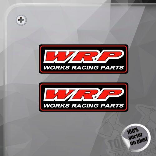 PEGATINA WRP WORKS RACING PARTS DECAL VINYL STICKER AUTOCOLLANT