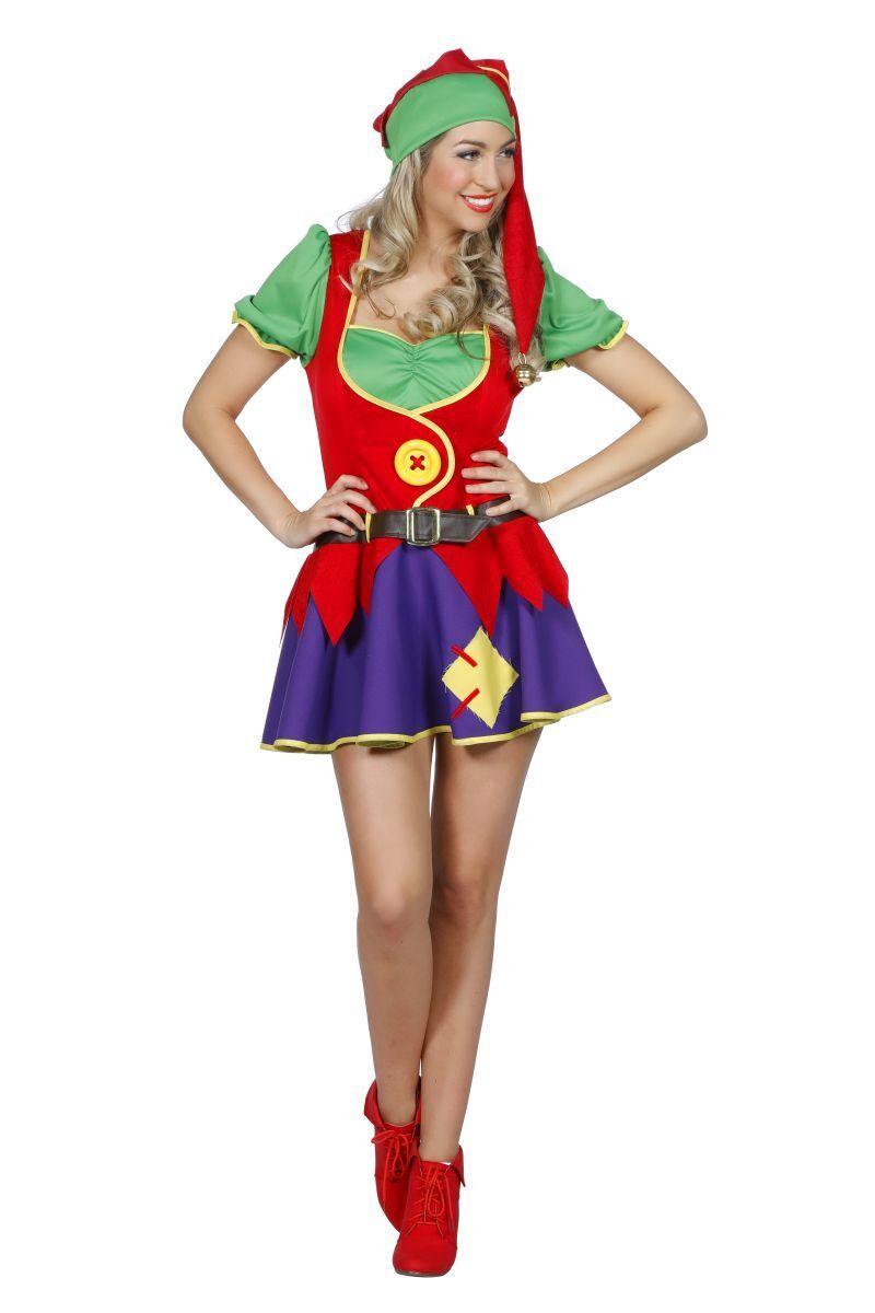 WIL WIL WIL - Damen Kostüm Klabauter Zwerg Kobold Karneval | Lebensecht  | Outlet Online Store  | Sale Online Shop  078831