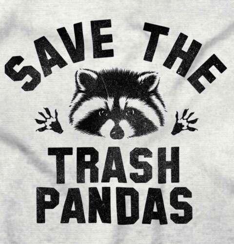 Save The Trash Pandas Adorable Raccoon Gift Hoodies Sweat Shirts Sweatshirts