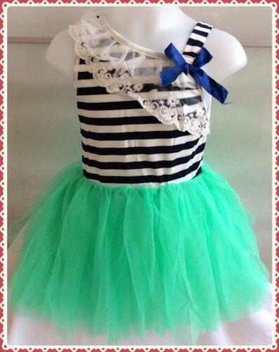 New Girls Lace Strap Tulle Tutu Dress Age 3-4 Years UK Seller-Girls-Clothing