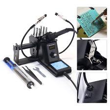 110v 60w Rework Soldering Station Kit Adjustable Temperature Digital Led Display