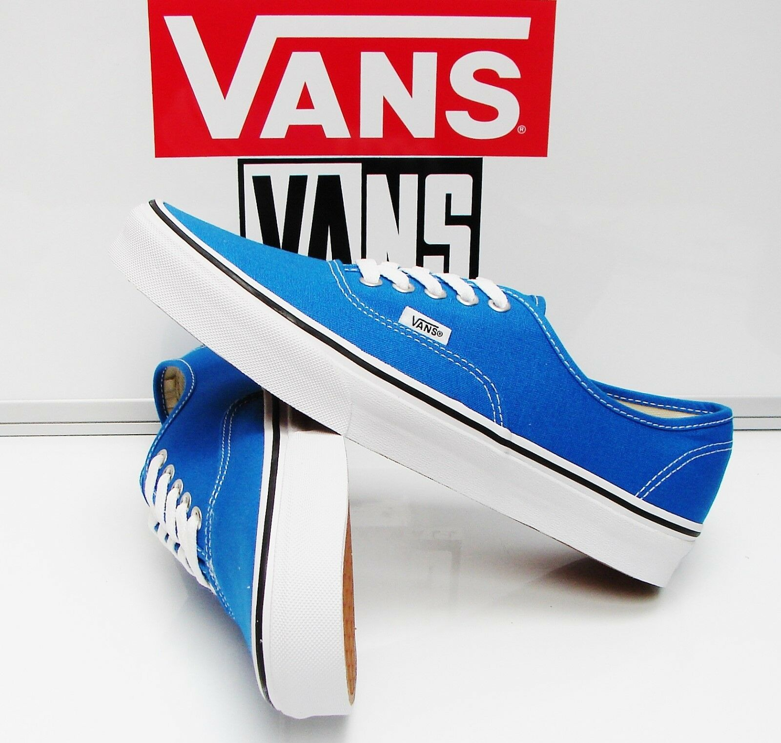 VANS AUTHENTIC SKYDIVER/TRUE WHITE VN-0VOECG9 MEN'S SIZE: 11