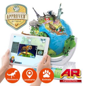 Interactive Open SmartGlobe with Oregon Scientific Smart Globe Explorer SG338R