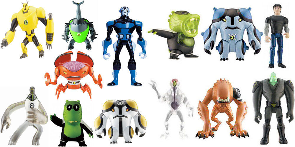 14 x Ben 10 Ten Figures Set Job Lot 10cm Bundle 13