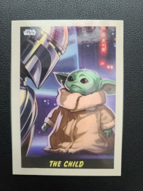 2020 TOPPS STAR WARS THE MANDALORIAN EBAY EXCLUSIVE 10 Card Set LIMITED EDITION
