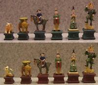 Chess Set Pieces Chinese Tang Dynasty