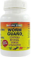 Nature Zone Worm Guard 2 Oz Kill Internal Worms & Parasites Free Ship In The Usa