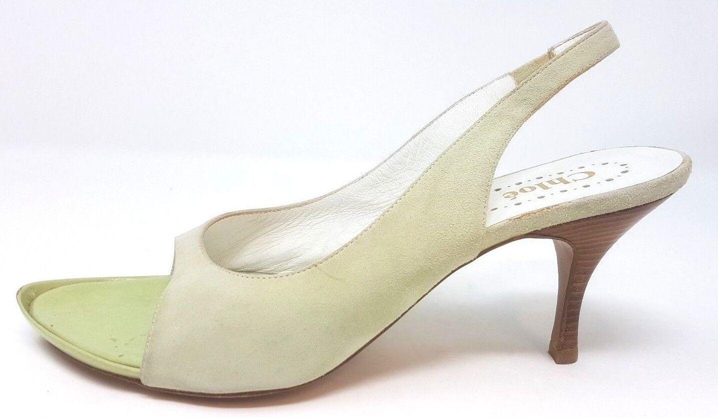 Chloe Sandalia fábrica Tamaño de muestra UK 4 EUR 37 C29
