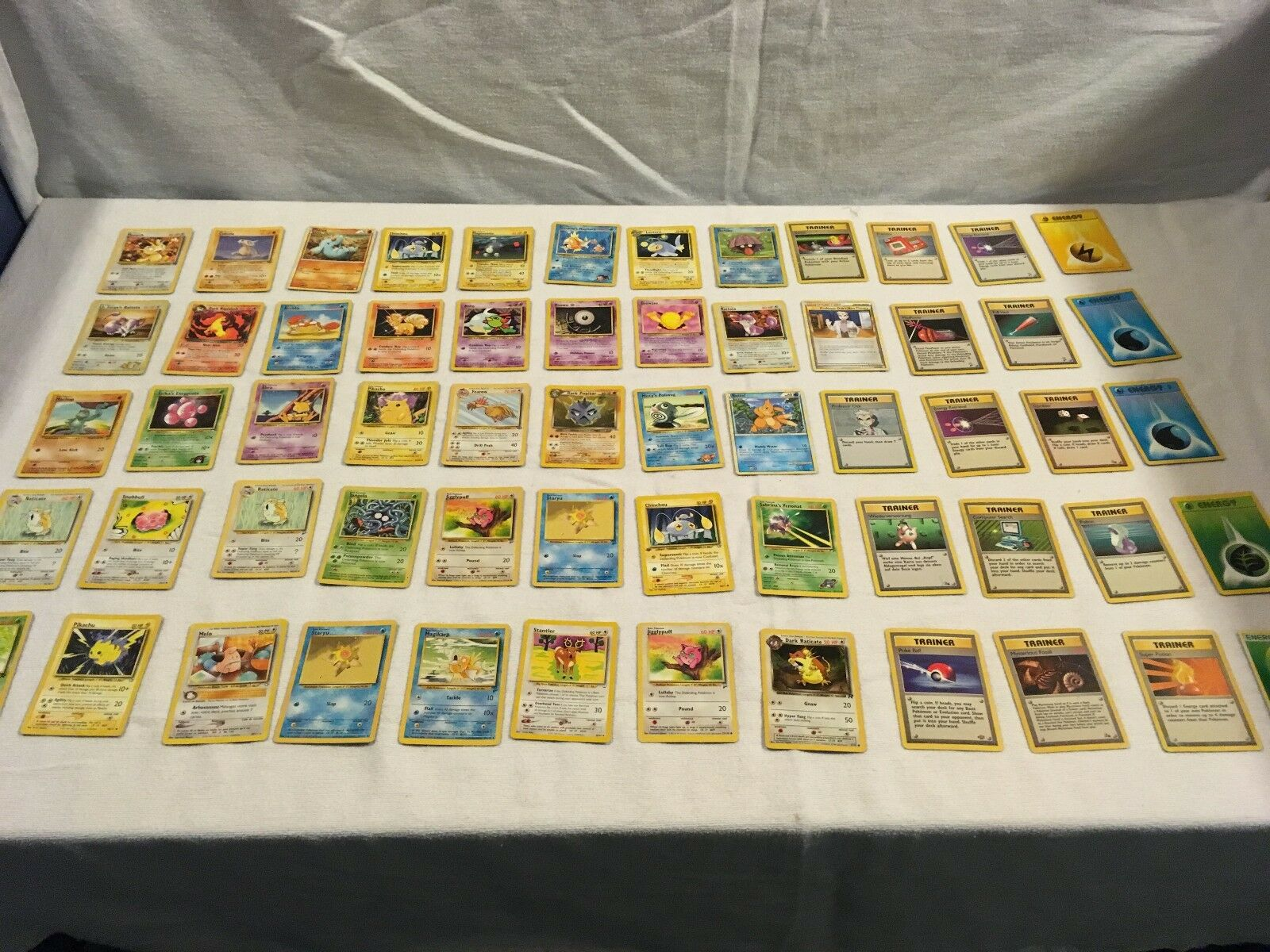 X 60 gemischte menge pokemon trading card game kinder spielen