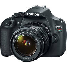 Canon EOS Rebel T5 / EOS 1200D Digital SLR Camera W/ EF-S 18-55mm IS II Lens KIT
