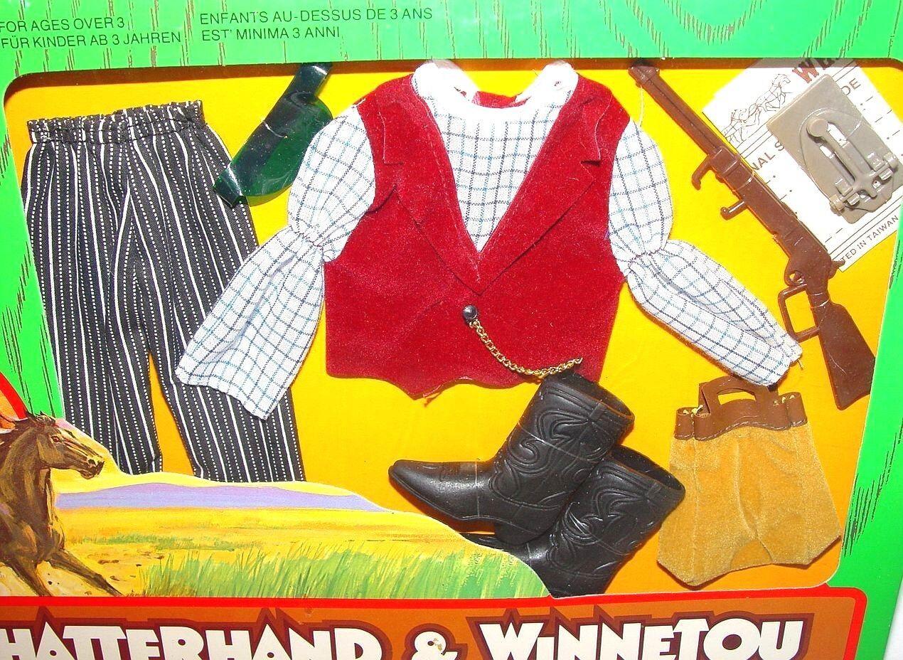 Mattel USA BIG JIM KARL MAY  WELLS FARGO TELEGRAPHIST  TV MOVIE Outfit MISB`75