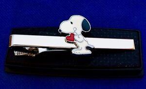 Stetig Snoopy Krawattennadel Peanuts Herz Krawatte Geschenkidee Clip-krawatte Neu Aromatischer Geschmack Uhren & Schmuck