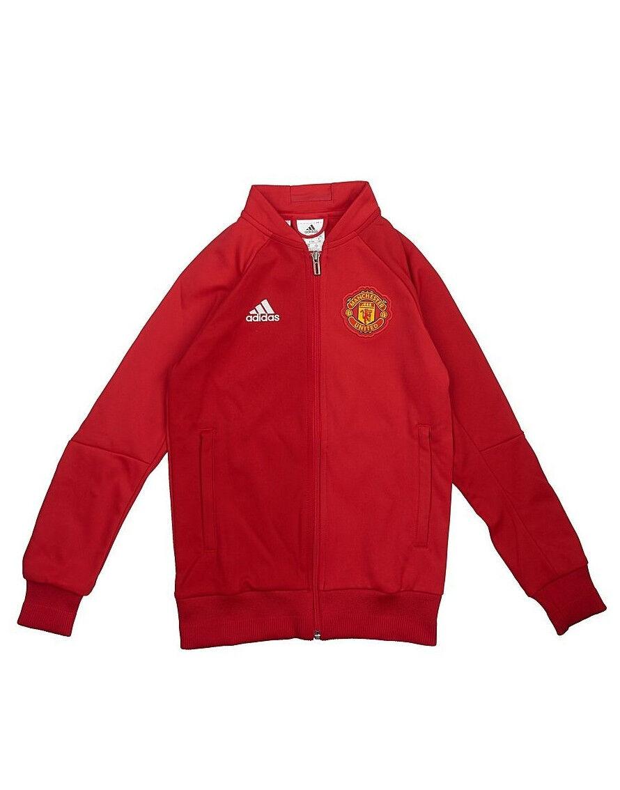 Adidas Manchester United [ ERL 152 176] MUFC Giacca per allenamento NUOVO
