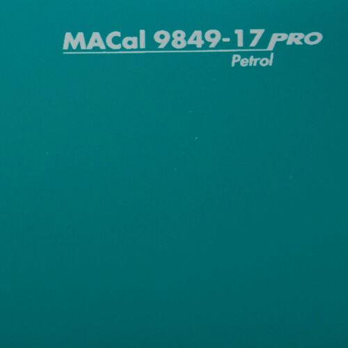 1 m PKW KFZ Folie petrol glänzend 61,5 cm 13,95 € //m Autofolie