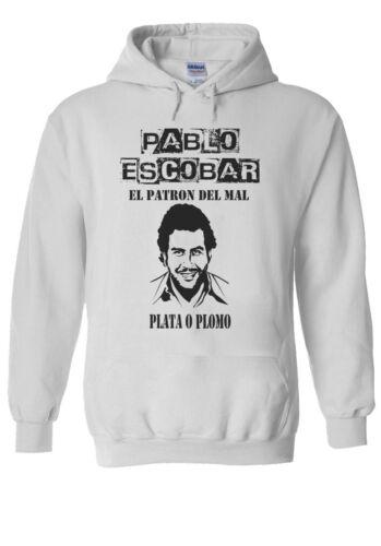 Pablo Emilio Escobar Uomini Donne Unisex Maglietta T-Shirt Maglietta da Baseball Felpa Con Cappuccio 2536