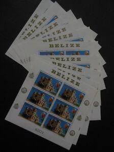 BELIZE-1983-Scott-666-Pope-039-s-Visit-60x-in-Full-Numbered-Shtlets-Cat-375